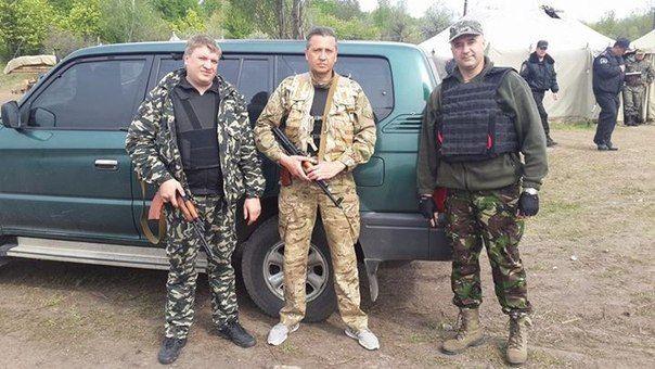 Полковник Ершов, майор Малыхин, капитан Зленко / Facebook