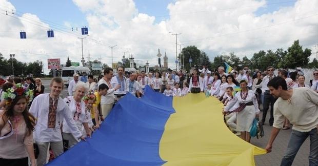 В Днепропетровске пройдет парад вышиванок