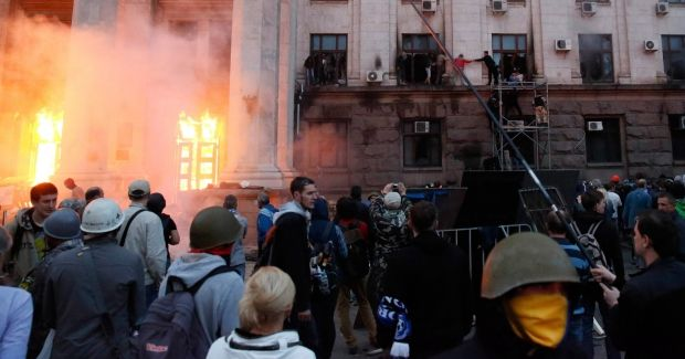"""""""Металлист"""" заявляет, что их болельщики непричстны к событиям в Одессе / REUTERS"""