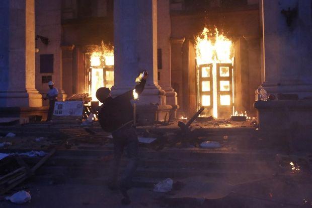 В Одессе объявили траур из-за гибели людей / REUTERS