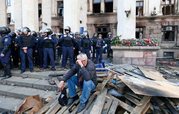 В Одессе 2 мая объявлено Днем памяти / REUTERS