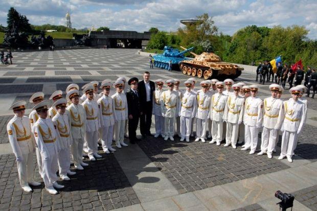 Кличко принял участие в митинге с кадетами
