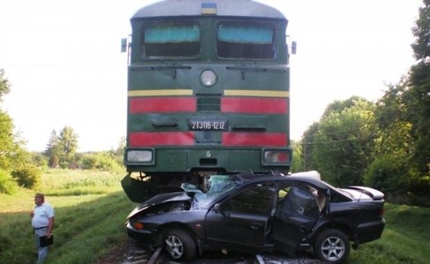 На железных дорогах Украины увеличилось количество ДТП