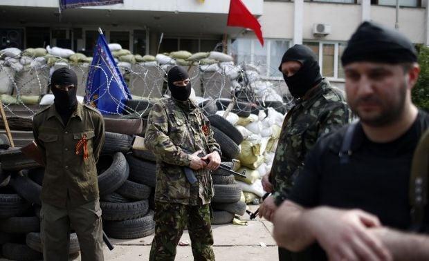 Горсовет Мариуполя опять захвачен террористами / REUTERS