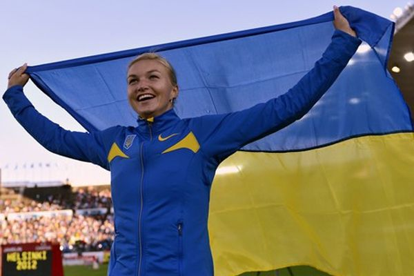 Вера Ребрик впервые выступит под российским флагом / uaf.org.ua