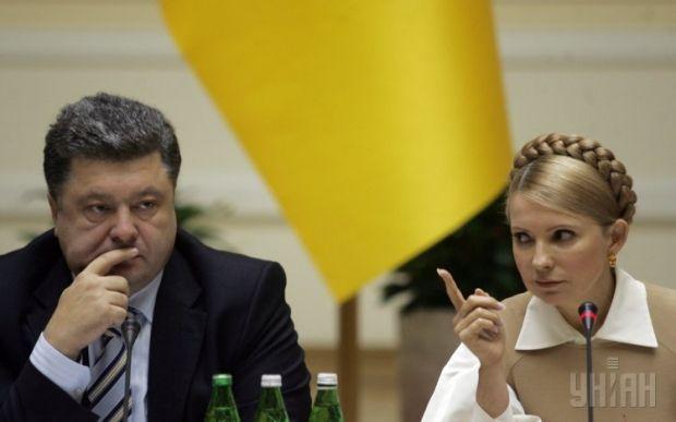 Порошенко по последним опросам уверенно опережает Тимошенко / фото УНИАН
