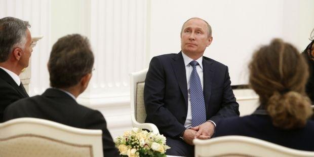 Путин немного изменил риторику после встречи с делегацией ОБСЕ / Reuters