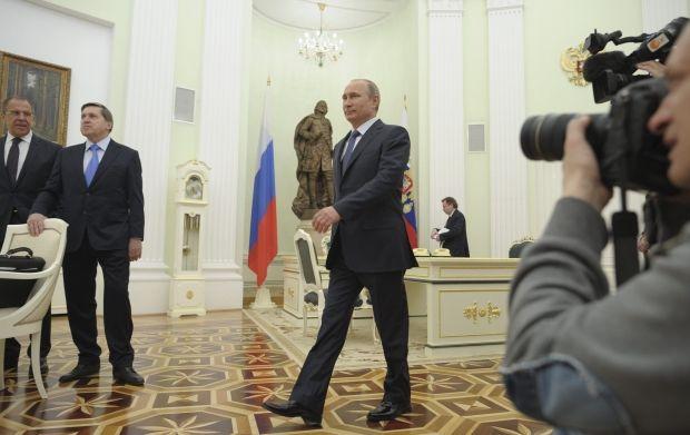 Встреча Владимира Путина с Президентом Швейцарии Дидье