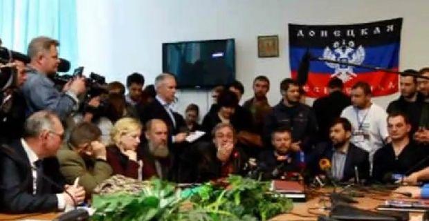 Сепаратисты собираются провести референдум 11 мая / Видео Сергея Ваганова