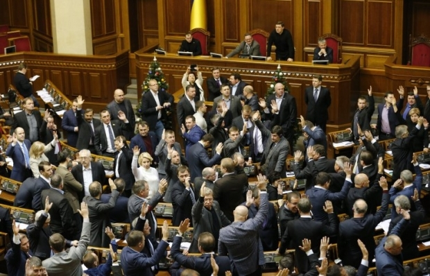 Poroshenko expects VR to vote to dissolve itself