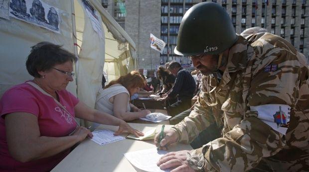 Донецк референдум / Reuters