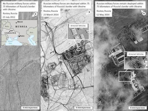 США опубликовали фото российских войск / Twitter @StateDept