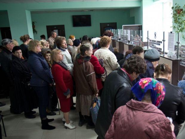 Почти пять тысяч жителей северной части Донецкой области недополучили пенсии из-за сложной ситуации в регионе / Фото: УНИАН