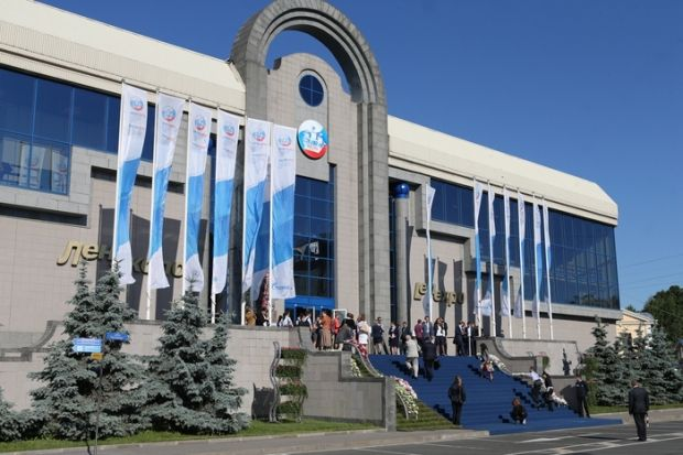 The Kremlin is actively preparing for the St. Petersburg International Economic Forum / expoforum.ru