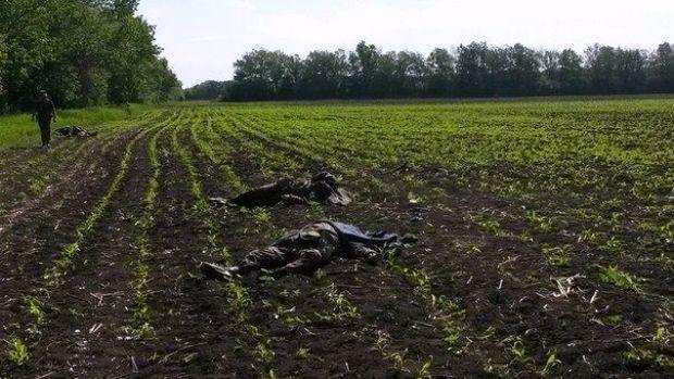 Боевики расстреляли украинских военных / vk.com