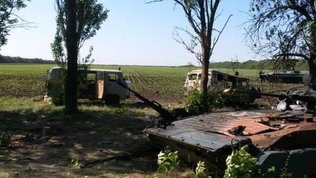 Авіація обстріляла лісосмугу, де перед цим напали на українських військових / vk.com