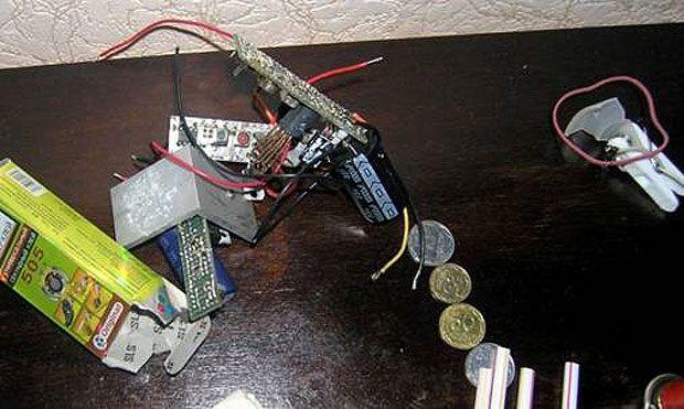 В гаражах, которыми пользовались диверсанты, силовики нашли технику, похищенную из КГГА / сайт СБУ