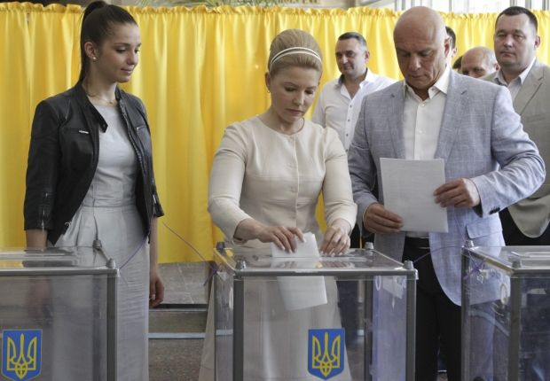 Кандидат в президенты Украины Юлия Тимошенко / REUTERS