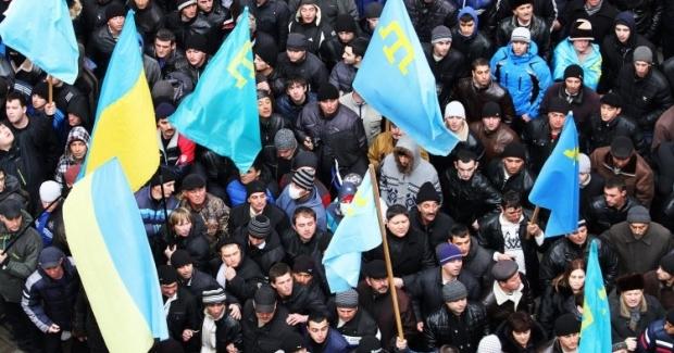 Крымские татары выcтупают за единство Украины / Фото УНИАН