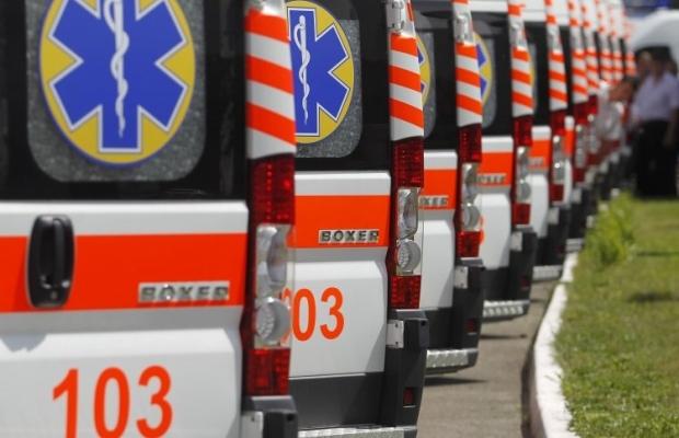 Мед. работники украинской столицы получили 15 новых «скорых»