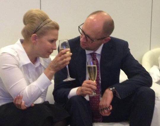 За Тимошенко проголосовали 12,8% - экзит-пол / facebook.com/viktor.rekl