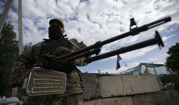 Terrorists attack column of ATO forces and shoot down APC, there are victims – Tymchuk/ REUTERS