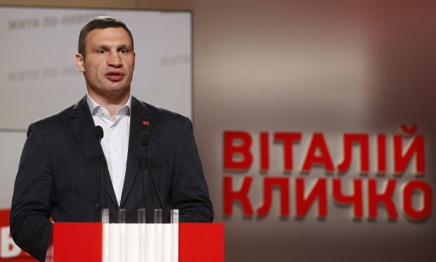 KCTEC gets data from almost 90% of protocols of capital elections: Klitschko gets 56.48% of votes, UDAR gets 39.66% of votes/ REUTERS