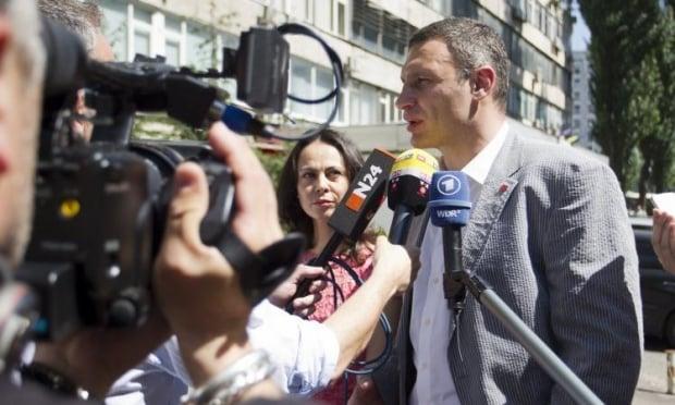 Кличко лидирует на выборах в Киеве / Фото УНИАН