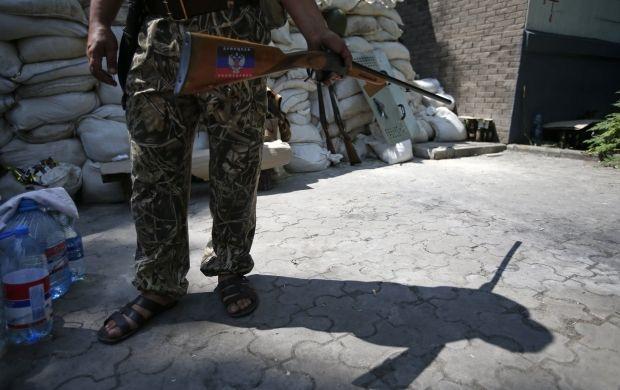 Террористы напали на луганских пограничников / REUTERS