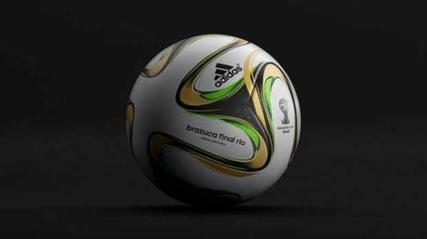 Финал чемпионата мира будет сыгран мячом brazuca Final Rio / fifa.com