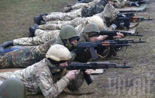 Нацгвардия опровергает захват своих бойцов / Фото УНИАН
