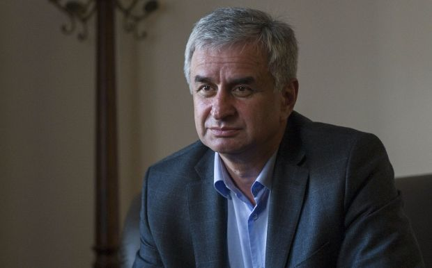 Рауль Хаджимба -лидер оппозиции Абхазии / REUTERS