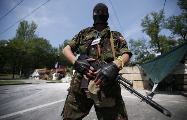 "Terrorists from ""DPR"" seize hospital in Donetsk/REUTERS"