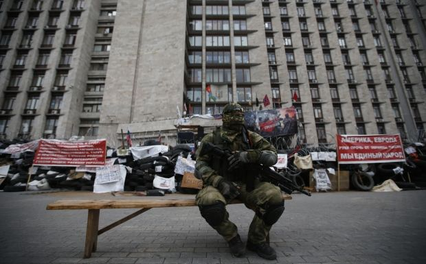 "Terrorists from ""DPR"" and ""LPR"" start attacking each other in Luhansk/REUTERS"