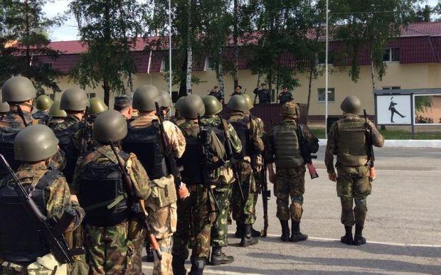 Бойцы Нацгвардии прибыли в Северодонецк