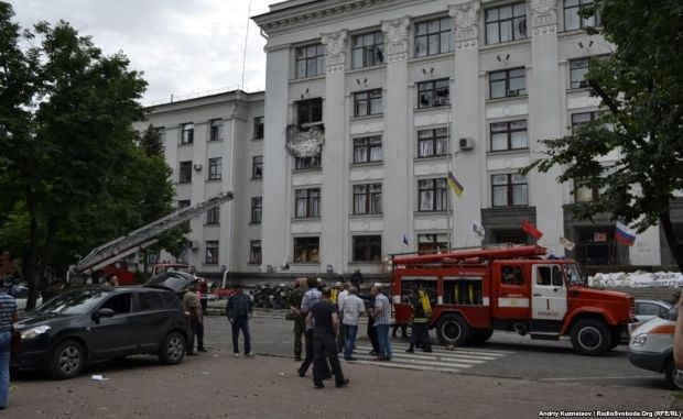 Взрыв в Луганске / Радио Свобода