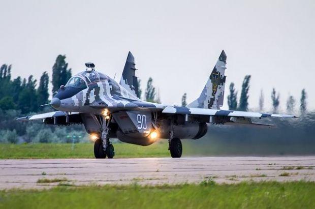 МіГ-29 прикривали роботу гелікоптерів / spotters.net.ua
