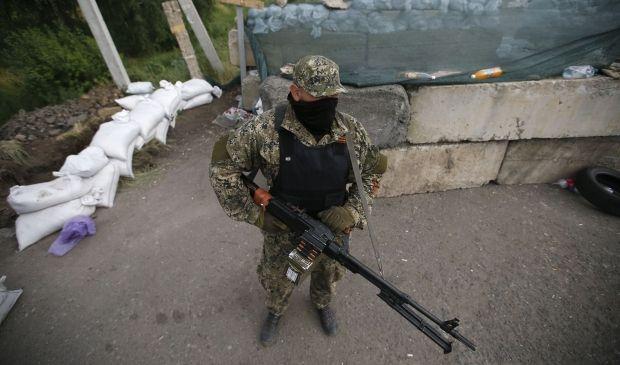 "Battle near ""Marinovka"" is over/ REUTERS"