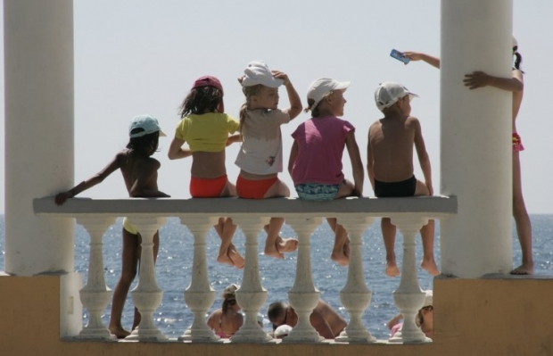Финансирование переезда украинских детей из Киева к месту назначения , а также самого отдыха взяла на себя хорватская сторона / Фото: УНИАН