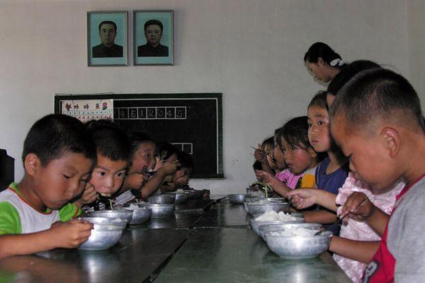 Северная Корея голод / http://thomaspmbarnett.com