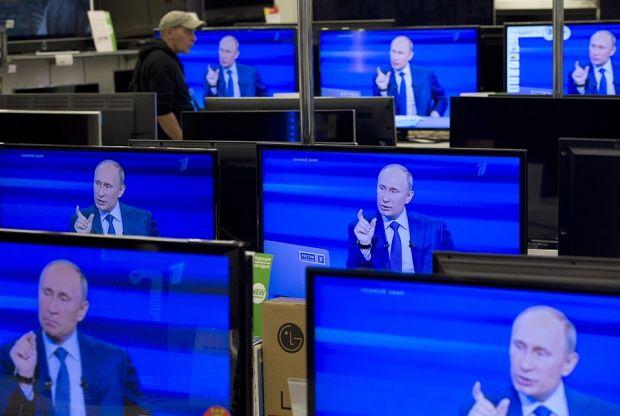 Путин телевизор / ridus.ru