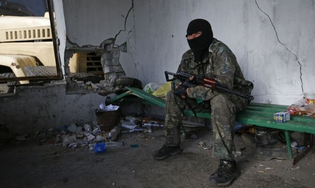 Fighters leave seized hospital in Slaviansk and try to break out from city – ATO Speaker/REUTERS