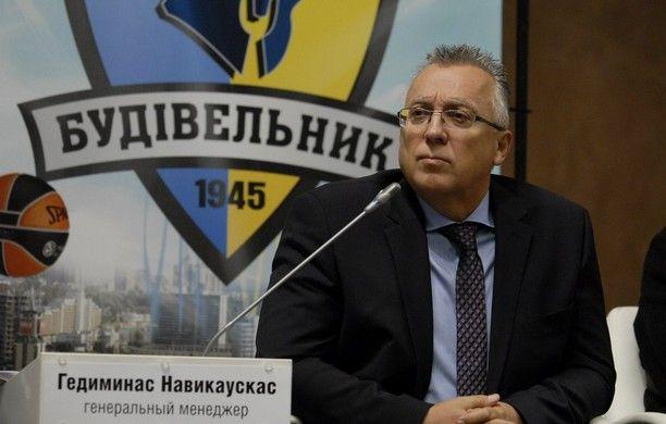 Генеральный менедженр столичного клуба считает ориентиром на следующий сезон Евролигу / budivelnyk.ua