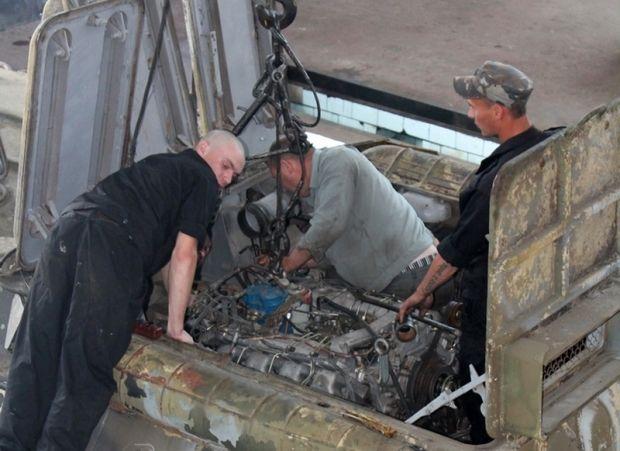 Россия возвращает технику из Крыма в непригодном состоянии (фото)