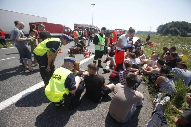 Ukrainian bus crashes in Poland: 7 people die /Dziennik Zachodni