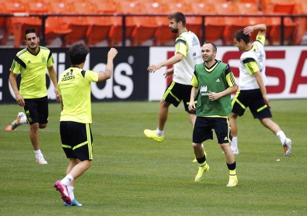 Футболисты сборной Испании могут получить по итогам ЧМ рекордные призовые / Reuters
