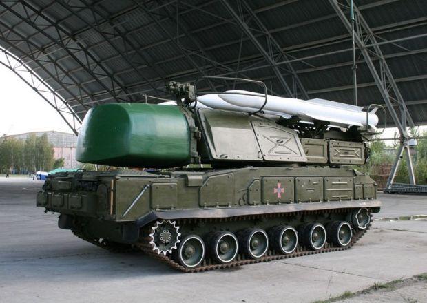 Бук-М1 відремонтовано / Міноборони України