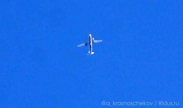 Украинский самодлет подбили из ПЗРК / @a_krasnoschekov