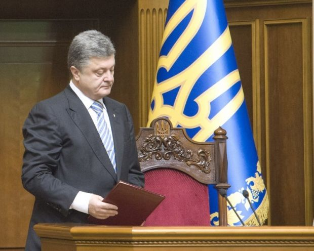 Poroshenko instructs to create necessary conditions for peaceful residents, who want to leave ATO area/Photo UNIAN