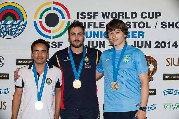 Павло Коростильов (праворуч) став призером етапу Кубку світу / noc-ukr.org